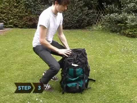 How to Avoid Back Strain with a Backpack