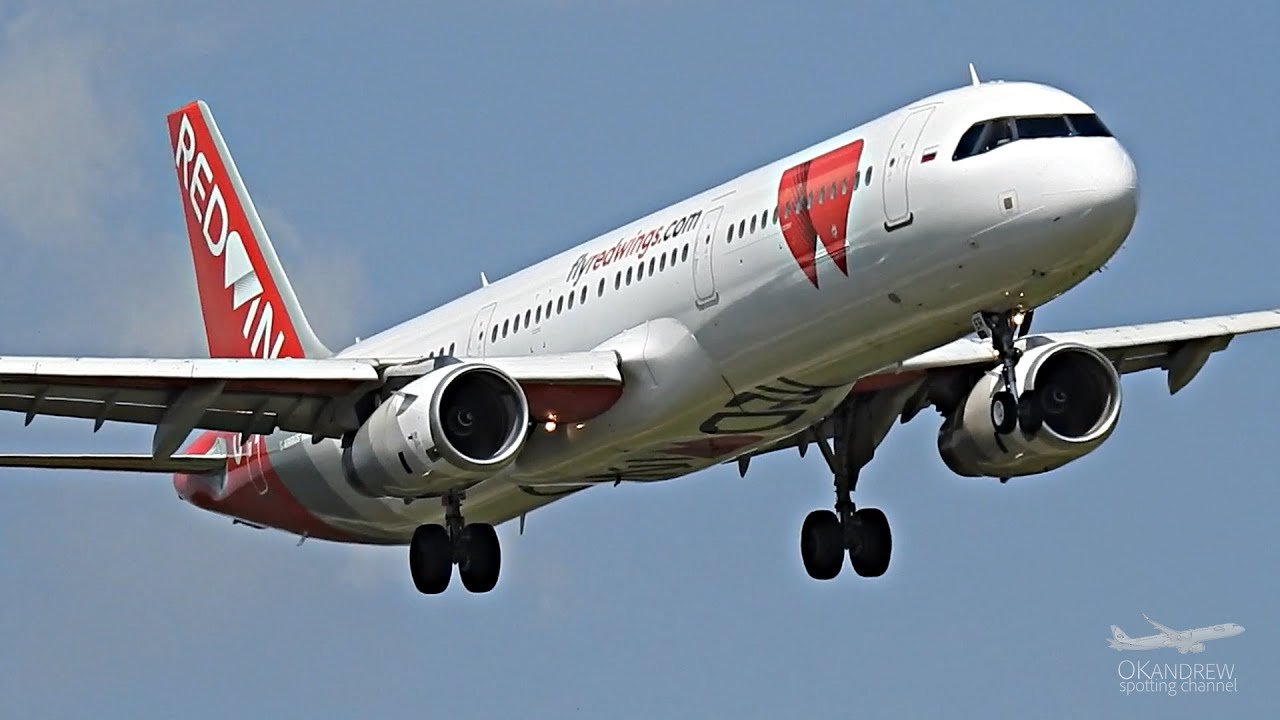 Трое против ветра Airbus А321 Уральцы, Red Wings & S7 Airlines в Домодедово