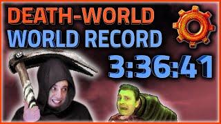 """[New World Record] Factorio """"Death-World"""" Speedrun in 3:36:41"""