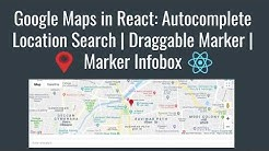 react-google-maps Multiple markers and Info Window - Free