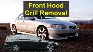 How to remove a Volvo P2 grill, S80, V70, S60, etc. - VOTD
