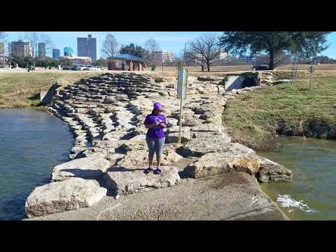 At Trinity River with my Girlfriend