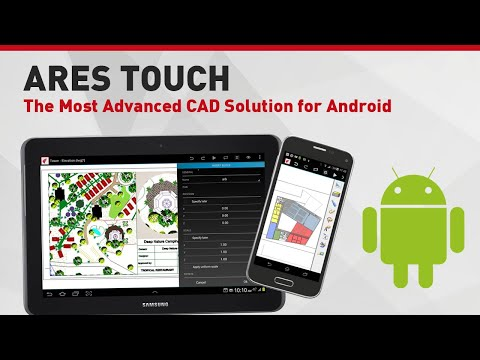 ARES Touch | The Most Advanced CAD Solution For Android