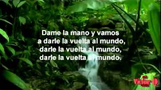 Calle 13 - La Vuelta Al Mundo -HD VIDEO - LETRA - [Original] [Entren Los Que Quieran