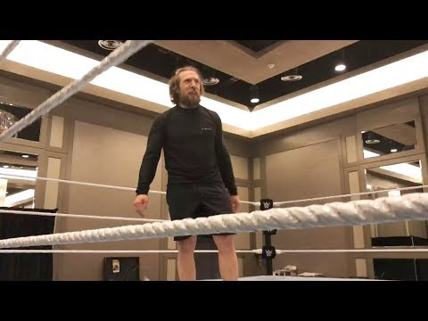 Daniel Bryan tries his first backflip in three years: WrestleMania Diary