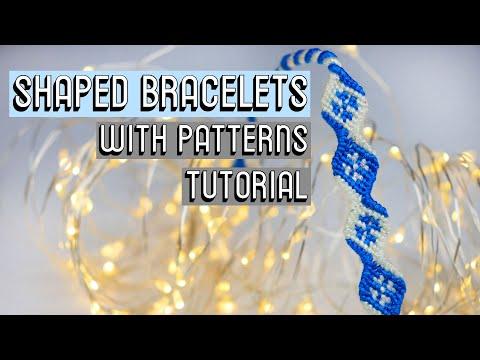 SHAPED BRACELETS TUTORIAL    Friendship Bracelets thumbnail