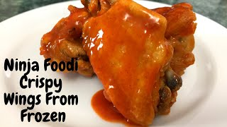 Ninja Foodi-From Freezer Buffalo Chicken Wings