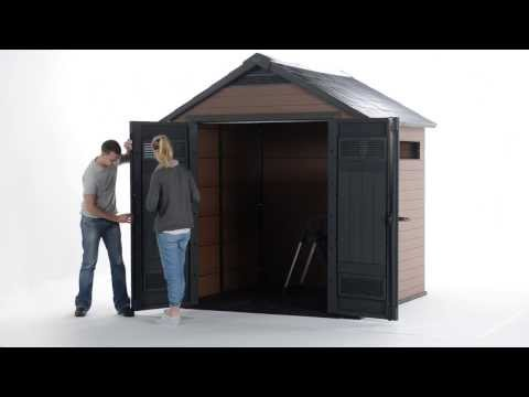 How To  | Fusion | Wood & Plastic Sheds | Keter