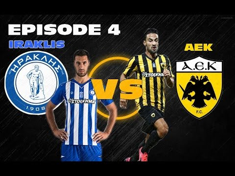 FIFA 16 - AEK Athens Career - Season 1 - Ep04
