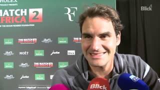 «Roger Federer, wie gefällt Ihnen Lindsey Vonn?»