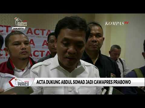 ACTA Dukung Abdul Somad Jadi Cawapres Prabowo Subianto