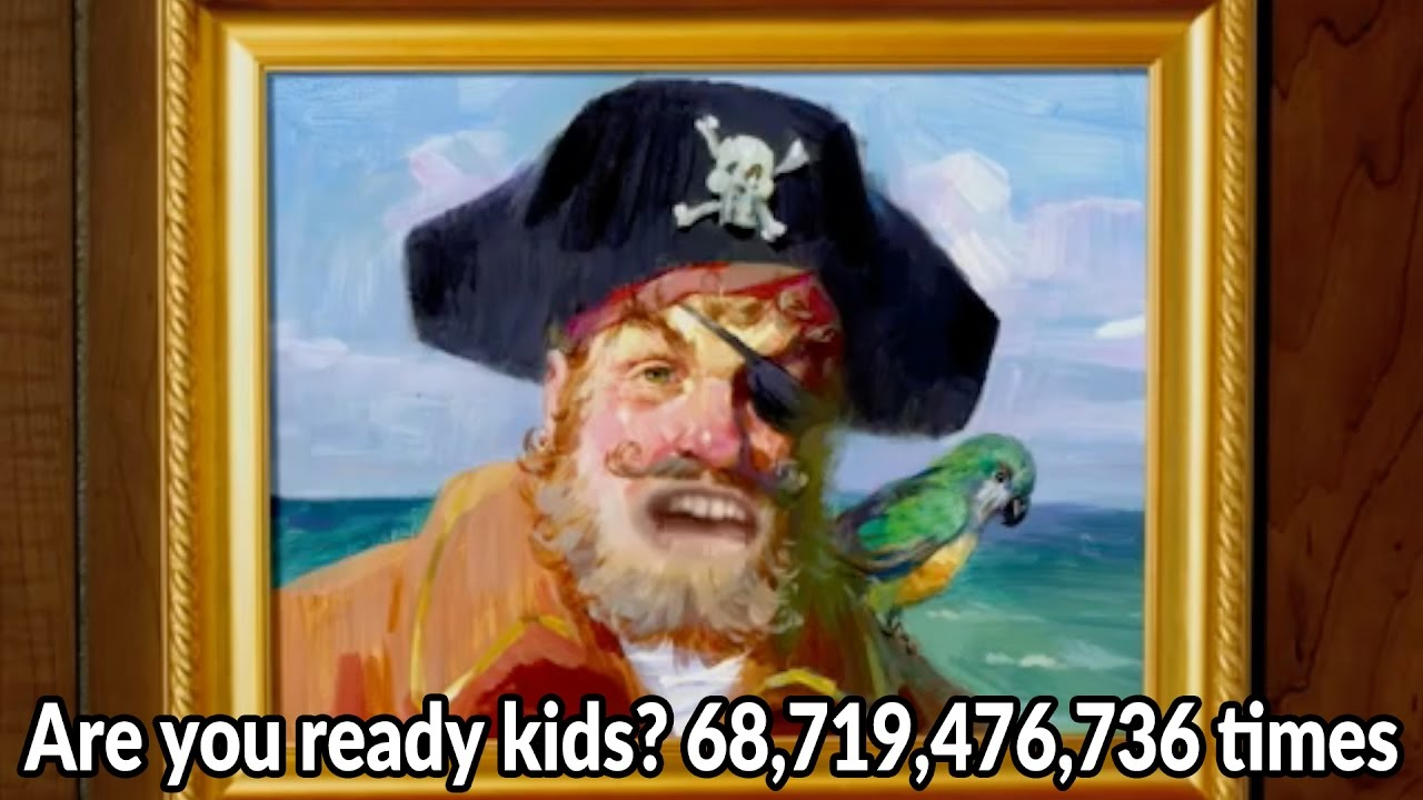 Kinder Garden: Are You Ready Kids? 68,719,476,736 Times