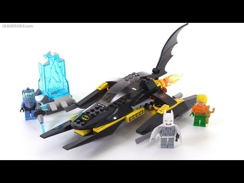 LEGO DC Super Heroes Arctic Batman vs Mr. Freeze review! set 76000 ...
