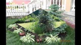 видео Дизайн сада и участка своими руками