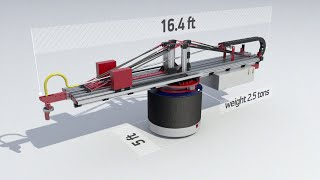 3D Printer(Video production services: http://alconost.com/video Производство видеороликов: http://alconost.com/video Introducing a new mobile 3D printer from Apis Cor ..., 2015-11-11T08:36:19.000Z)