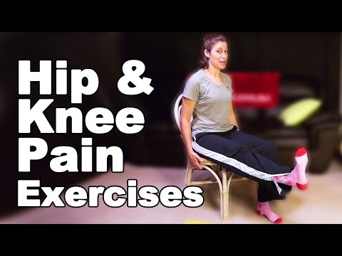 Hip Pain & Knee Pain Exercises, Seated Ask Doctor Jo