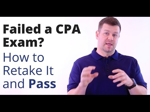 Failed a CPA Exam? How to Retake It and Pass