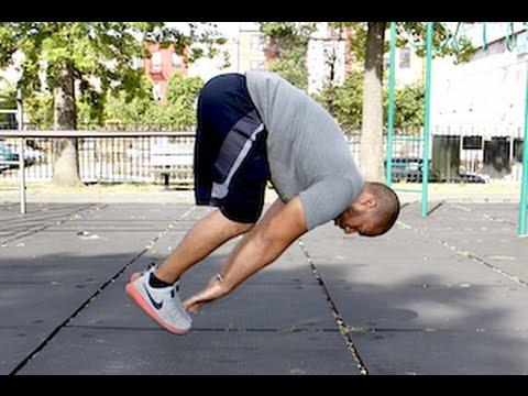 How To Do Aztec Push Ups (Touch Your Toes In The Air!)