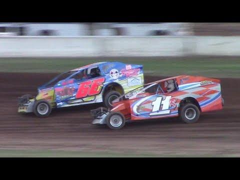 BRP Big Block Modified Heat Two | McKean County Raceway | 8-16-17