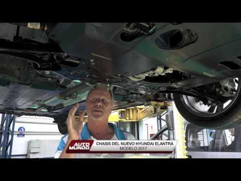 Chasis del nuevo Hyundai Elantra 2017