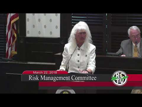 Risk Management Committee - March 22, 2018