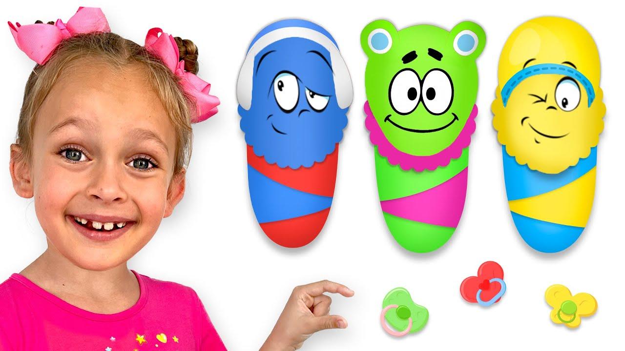 Mami, mami, dame deliciosas Frutas & Vegetales | Maya y Mary Canciones Infantiles