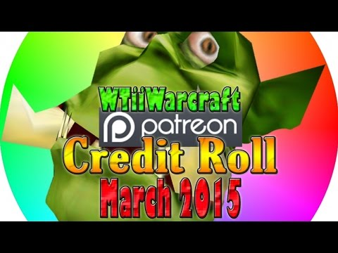 Patron Credit Roll (March 2015)