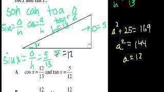 CA Geometry Basic Trigonometry grade 9 to 10