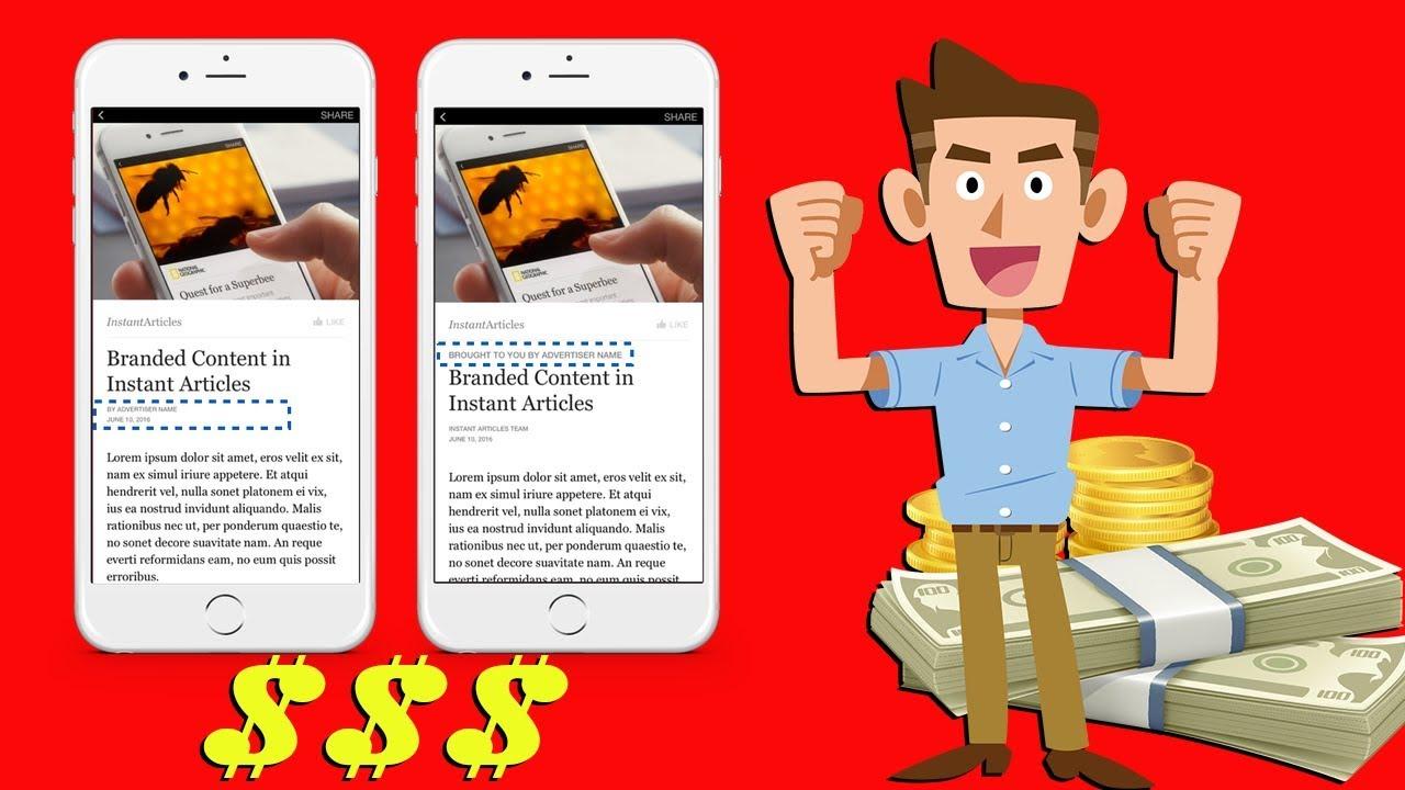 كيف يمكنك ربح المال من فيسبوك عن طريق facebook instant articles | تفصيل فيديو رغيب امين ????