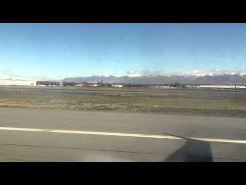 Take of at Ted Stevens Anchorage International Airport