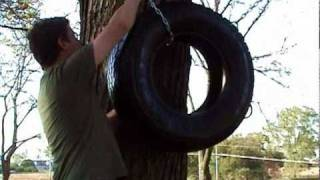 Vertical Tire Swing