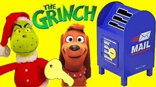The Grinch Movie Mailbox with Incredibles and Paw Patrol Santa Letter to Ralph
