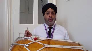 Improvised Version of the Chaal Rhythm - Dhol Lesson