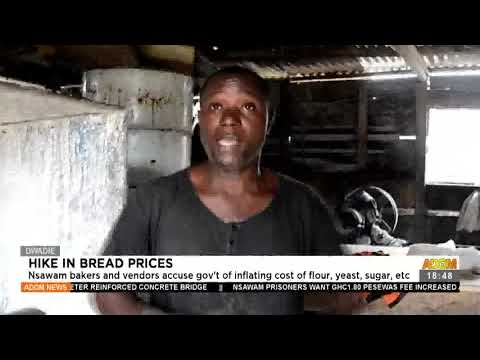 Nsawam bakers and vendors accuse gov't of inflating cost of flour - Adom TV News (19-7-21)