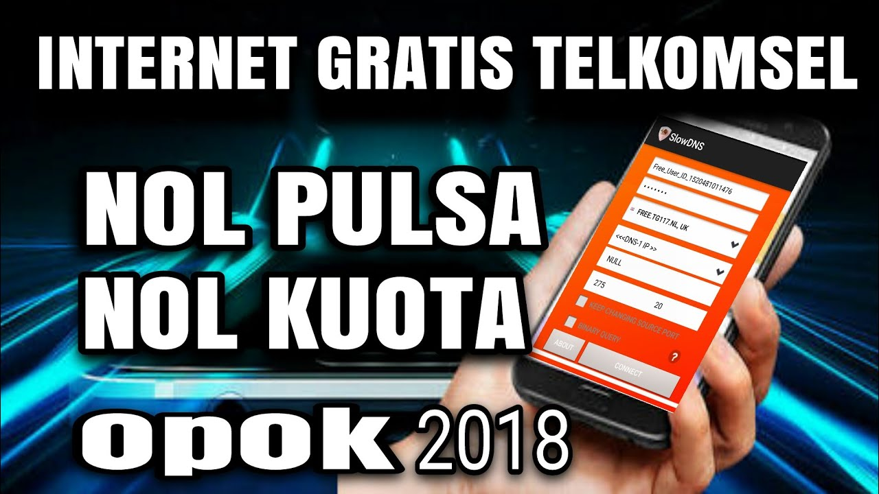 Internet Telkomsel Nol Pulsa Nol Kuota 2018 Youtube