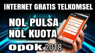Internet Gratis Telkomsel Nol Pulsa Nol Kuota 2018