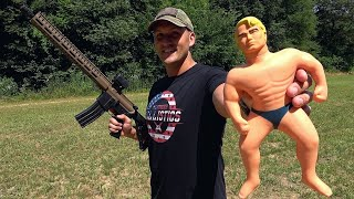 Full Auto 22 LR vs Stretch Armstrong (Full Auto Friday)