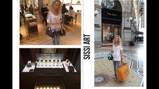 VLOG: SHOPPING IN MILANO (Louis vuitton, Tiffany, Chanel....)