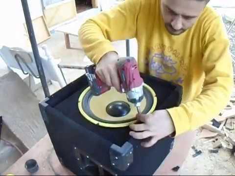 Building a 2.1 active speaker system/Αυτοενισχυόμενο σύστημα ήχειων