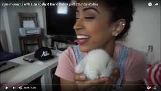 Cute moments with Liza Koshy & David Dobrik part 20 // davidxliza