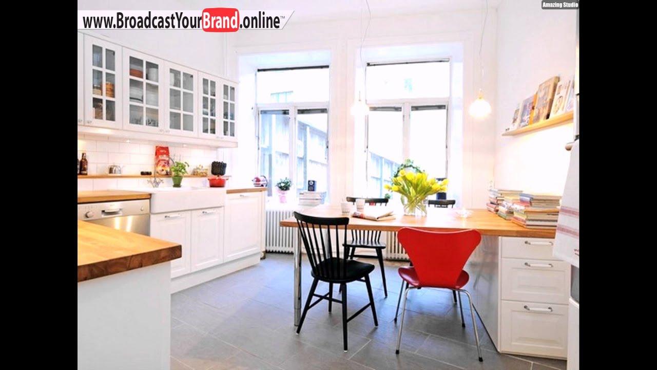 Skandinavische Küche Moderner Essplatz - YouTube