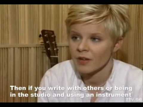 Robyn interview from 1999 Part 1