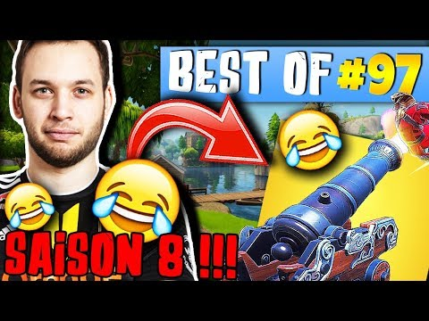 *SAISON 8* MICKALOW MORT DE RIRE 😂 LA DANSE DE THEKAIRI ► BEST OF FORTNITE FRANCE #97