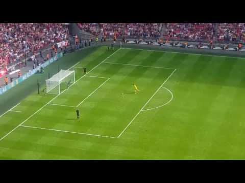 Thibaut Courtois HORRIBLE PENALTY 😂😂 ▶ CHELSEA VS ARSENAL 1-1 (1-4) COMMUNITY SHIELD FINAL