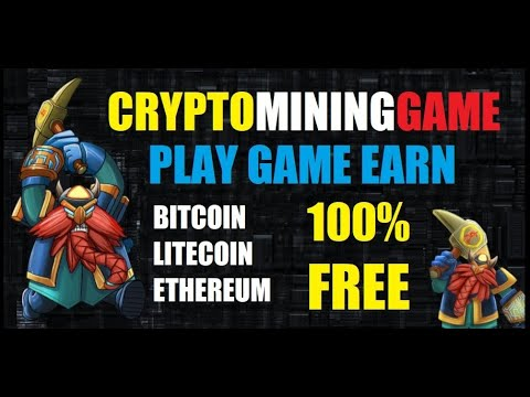 Cryptomininggame, Earn Cryptocurrency Free, Free Cryptocurrency Mining