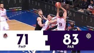 KUP RADIVOJA KORAĆA: Partizan - FMP 83:71 | Pregled utakmice