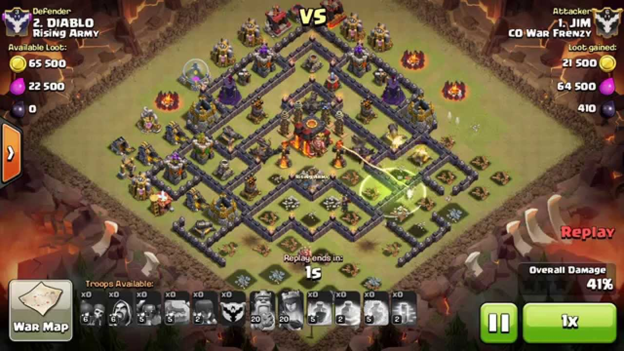 Coc gowipe th10