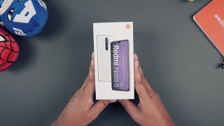 Unboxing Xiaomi Redmi Note 8 Pro