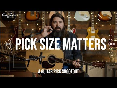 The Ultimate Guitar Pick Shootout