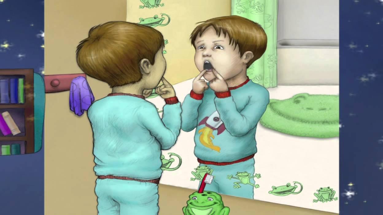 Luca impara a lavarsi i denti per i genitori youtube